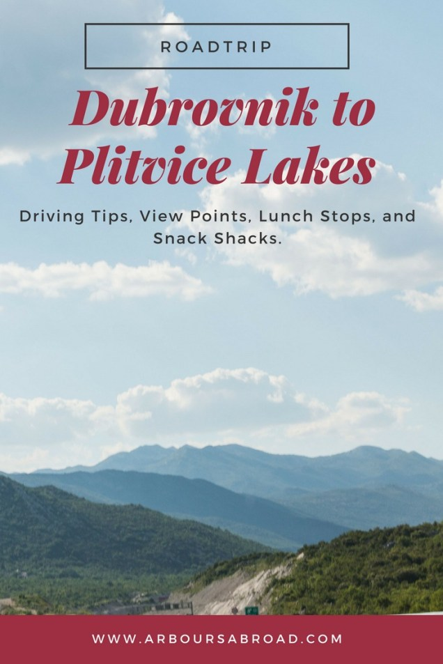 driving Dubrovnik to Plitvice Lakes, How to get To Plitvice Lakes