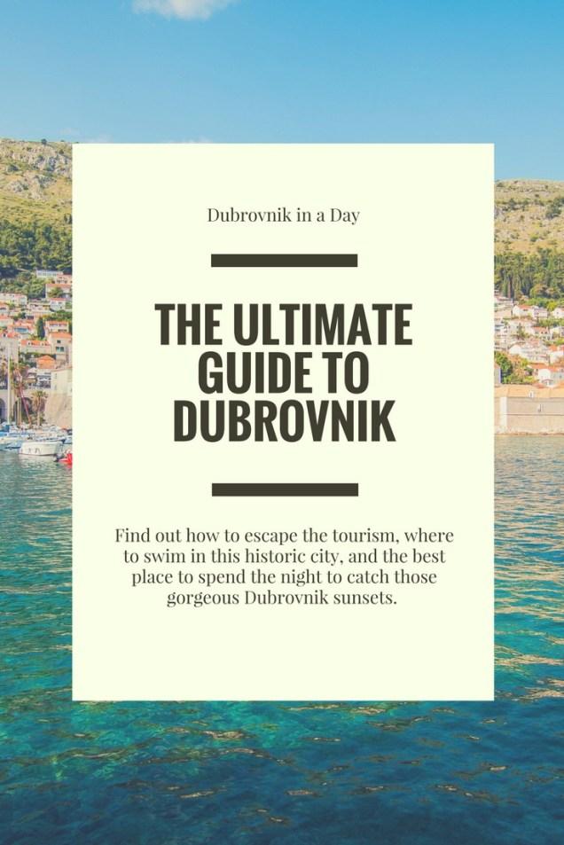 Dubrovnik, Dubrovnik Itinerary, 24 hours in Dubrovnik, Croatia, arboursabroad, travel guide