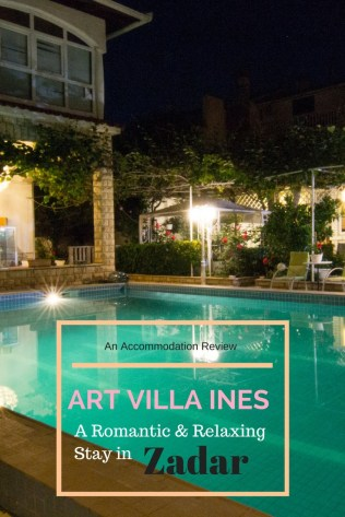 Art Villa Ines, Zadar, Croatia, zadar accommodation, where to stay Zadar, arboursabroad