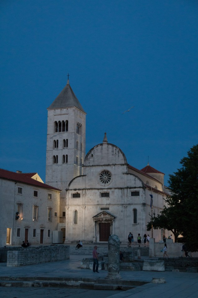 The Forum, Zadar, Croatia, St. Anastasia's Cathedral, Zadar guide, arboursabroad