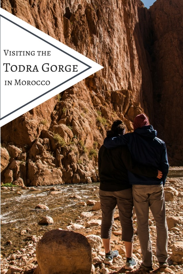 Todra Gorge, couple at todra gorge, arboursabroad, Morocco
