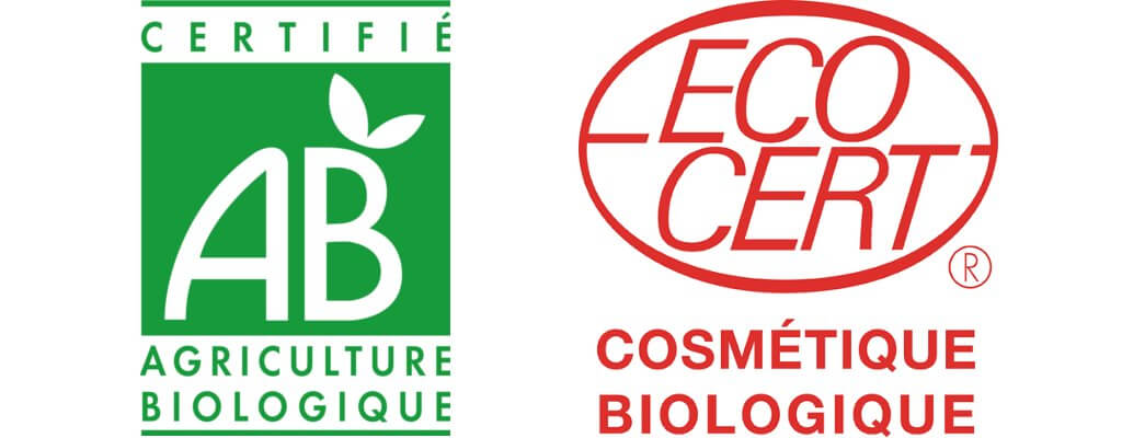labels agriculture et cosmétique bio