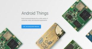 قوقل تُطلق منصة Android Things لإنترنت الأشياء
