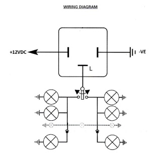 12 Volt Flasher Relay Wiring Diagram 12 Volt LED Flasher