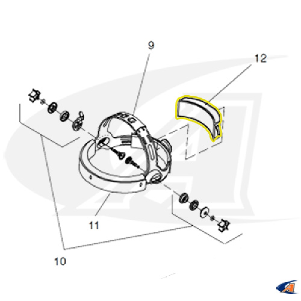 Foam Comfort Cushion for Miller Welding Helmet Head Gear