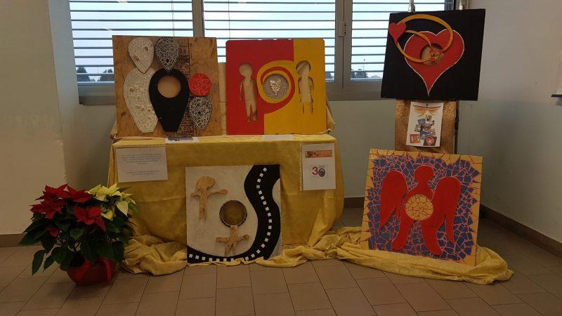 """La mostra """"SAGOME"""" testimonial all'Open Day dell'Istituto Professionale dei Servizi Sociali di Appiano Gentile"""