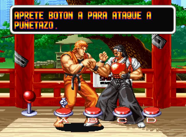 ART OF FIGHTING   NEO•GEO   GUÍA DE MOVIMIENTOS
