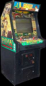 POW Prisoners of War arcade video game by SNK 1988