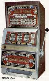 Gold Rush slot machine by Bally Mfg 1975