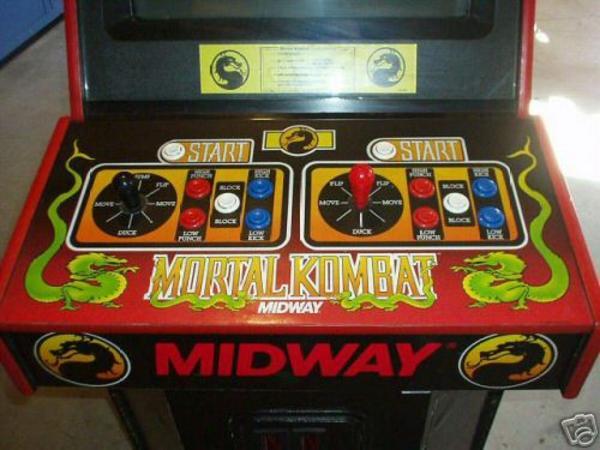 mortal kombat videogame by