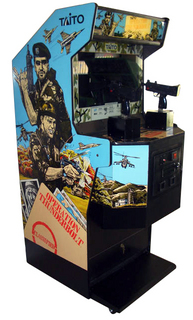 Operation Thunderbolt  Videogame by Taito