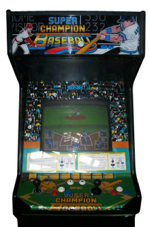 Super Champion Baseball Videogame By SNK