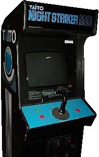 Night Striker Videogame By Taito