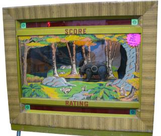 Shoot The Bear Arcade By Seeburg