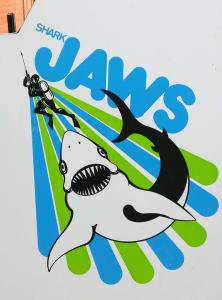 Shark Jaws Side Art
