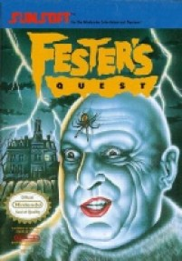 4 Festers Quest nes Game Cover Image-1