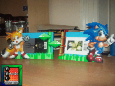 a-beads-c-start-sonic-picture-frames
