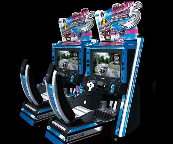 initial d arcade racing
