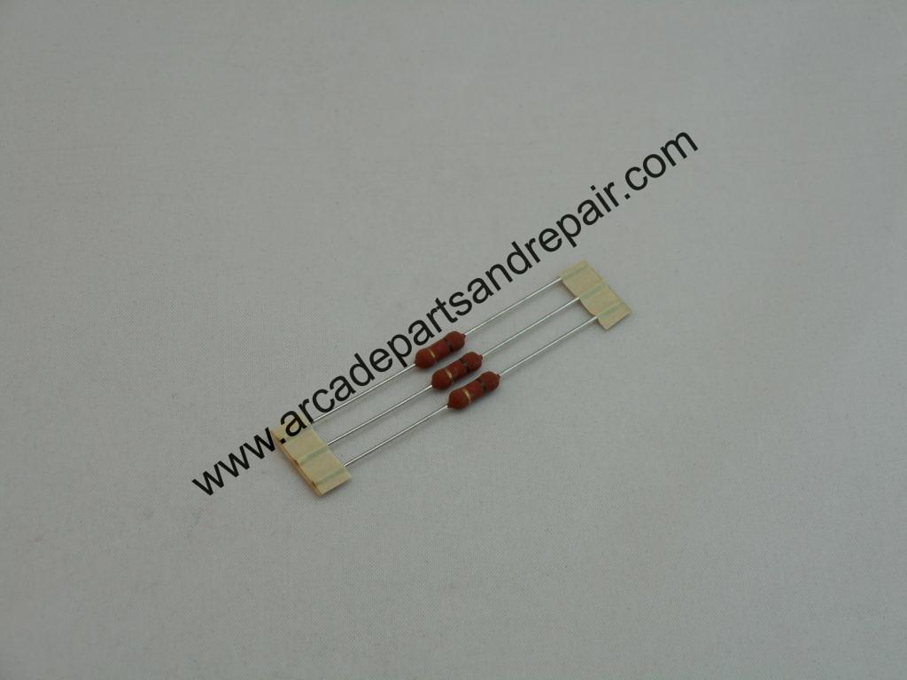 1k Ohm 2 Watt Metal Oxide Resistor 3pcs