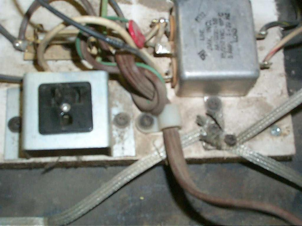 Started By Replacing The Power Cord On My Defender This Was A Scary