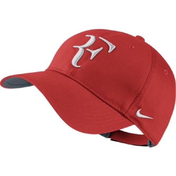 Nike Roger Federer Hybrid Cap - Rot Weiss