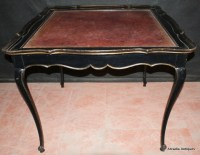 French Ebonized Centre Table - Antique OCCASIONAL TABLES ...