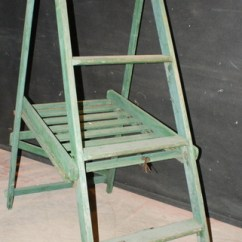 Folding Umpire Chair Arm Covers Dining Room Tennis Umpires Antique Miscellaneous