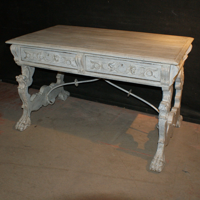 Spanish Writing TableDesk  Antique WRITING TABLES