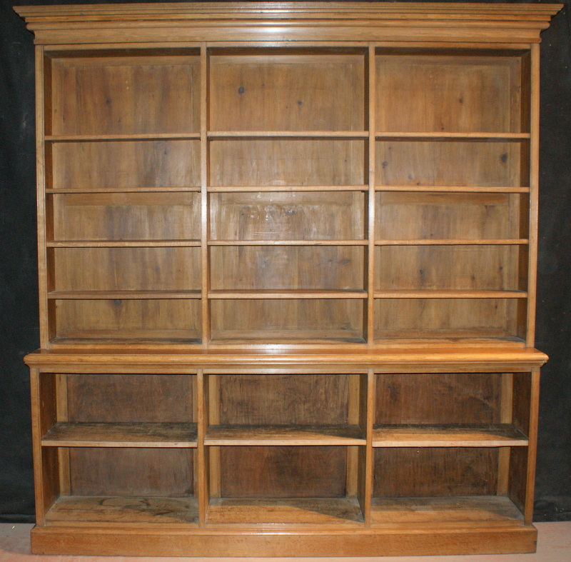 Open Library Bookcase Antique Bookcases