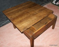 Fruitwood Sliding Top Coffee Table - Antique COFFEE TABLES ...