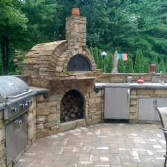 Outdoor Kitchen Oven Remodel Phoenix Kitchens Enhance Your Experience With A Fully Functional Gas Or Wood Fire Fireplace Even Fired Pizza