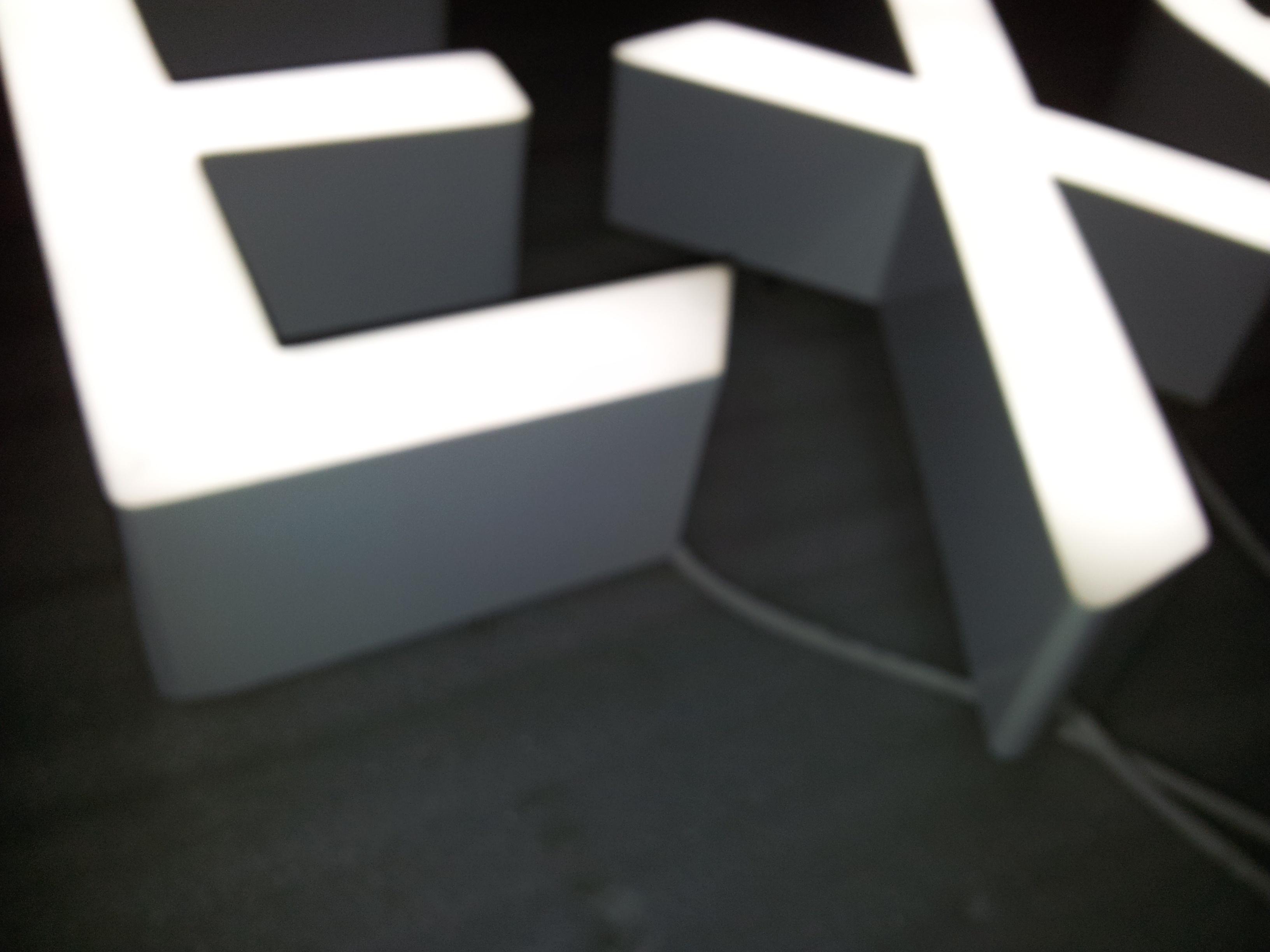 Non trim cap LED channel letter  ArcadiaLED