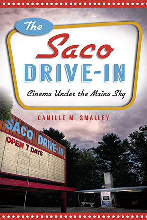 The Saco Drive In Cinema Under The Maine Sky By Camille M