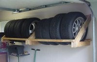 Tools and Machines My tire racks made from wood