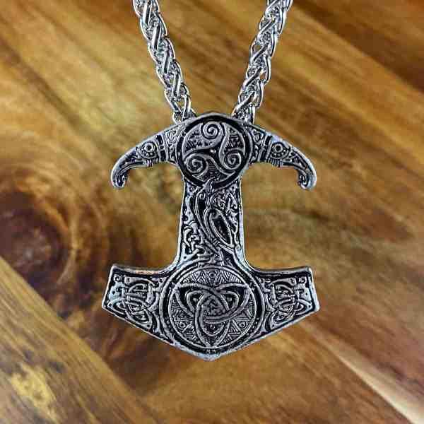 Celtic Hammer Necklace