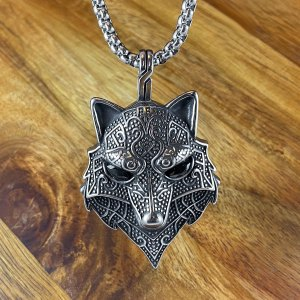 Celtic Fox Necklace