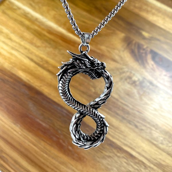 Infinite Dragon Necklace
