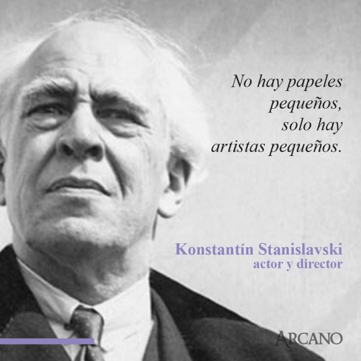 Frase Stanislavski 2 Arcano