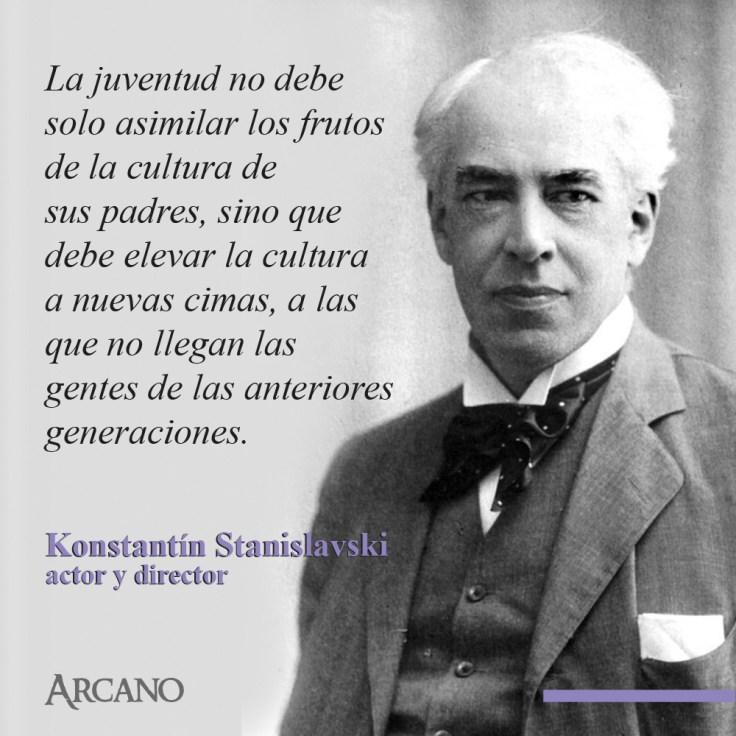 Frase Stanislavski 4 Arcano