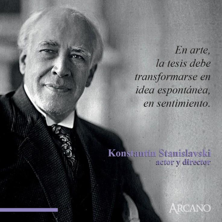 Frase Stanislavski 5 Arcano