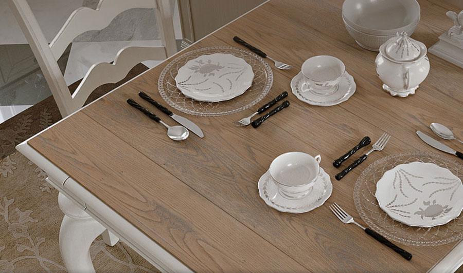 sedie e poltrone in stile provenzale per la casa. Arcari Arredamenti Sedie E Tavoli Da Cucina