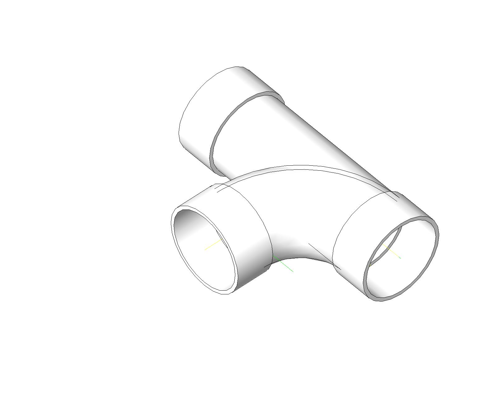 Pipe Fitting Cad Drawings