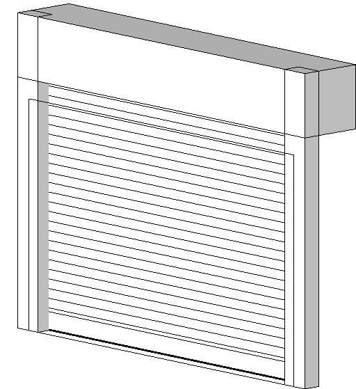 C.H.I. Overhead Doors Coiling Doors and Grilles BIM