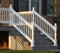 Superior Plastic Products Inc Vinyl Fence And Railings | Deluxe Stair And Railing | Stainless Steel Stairs | Houzz | Barclay Hollywood | Mg Alloy | Interior Stair