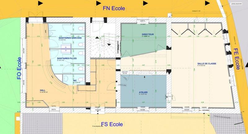 Rnovation Dune Ecole Et Cration Dune Bibliothque