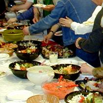 Actions collectives arcaux de bois himont for Idee repas partage