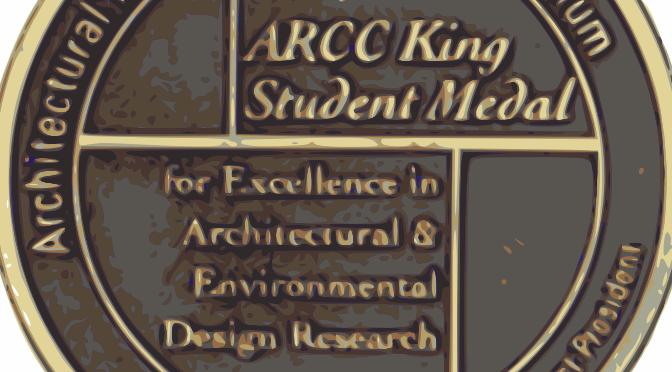 King Student Medal Closeup