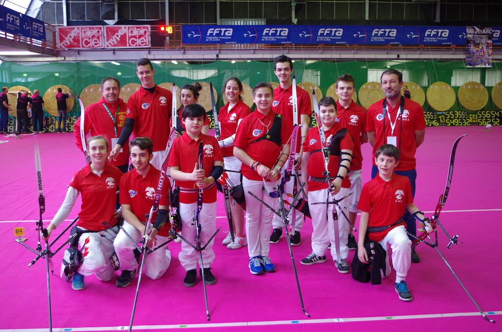 Championnat de France Salle Jeunes Lescar 2016