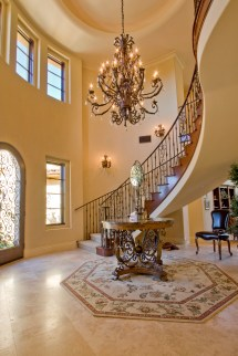 Tuscan Foyer Design Ideas