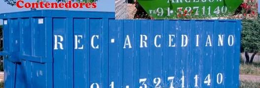 Contenedores de escombros Madrid
